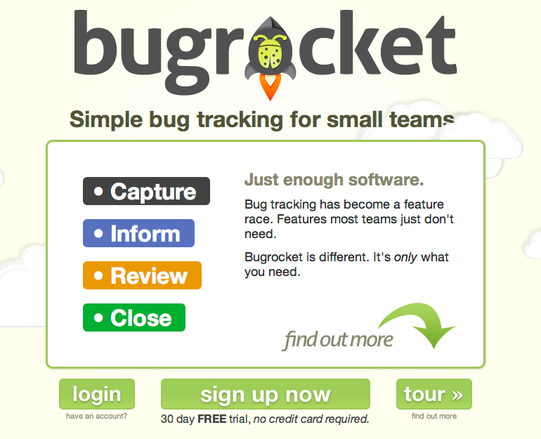 Bugrocket Homepage v2